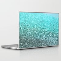 teal Laptop & iPad Skins featuring TEAL  by Monika Strigel