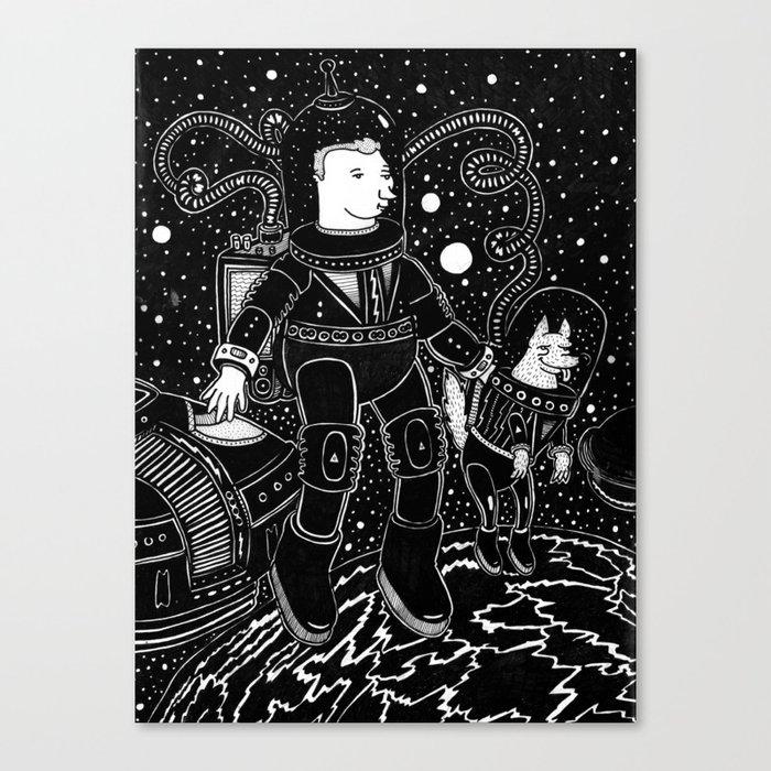 nostalgia espacial Canvas Print