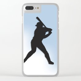 Batter Up Baseball Clear iPhone Case