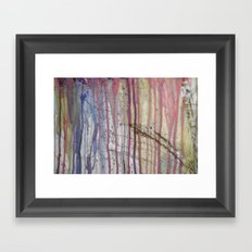 Dripping 2 Framed Art Print