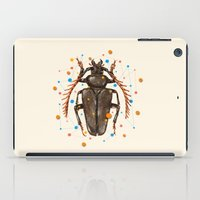 insect iPad Cases featuring INSECT VIII by dogooder