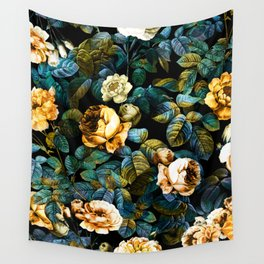 Night Forest IV Wall Tapestry