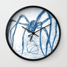 spider's food Wall Clock