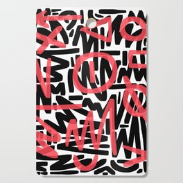 Graffiti 001 Cutting Board