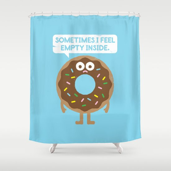 It's Not All Rainbow Sprinkles... Shower Curtain