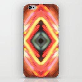 Fire lights iPhone Skin