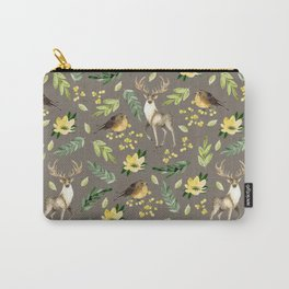 Deer and birds Carry-All Pouch