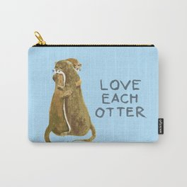 Love each otter Carry-All Pouch