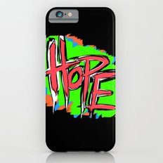 Hope (retro neon 80's style) iPhone 6s Slim Case