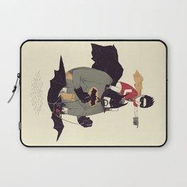 to the batmobile! Laptop Sleeve