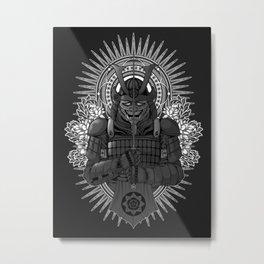 Last Samurai Metal Print