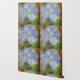 Agapanthus in Blue Wallpaper