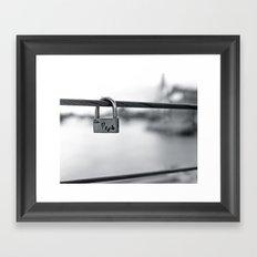 Love Locks 2012 09 Framed Art Print