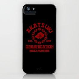 Akatsuki Organisation iPhone Case
