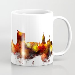 Cardiff Wales Skyline Coffee Mug