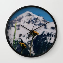 Mountain view suite part one Wall Clock