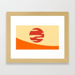 Samurai Champloo- Sunset Framed Art Print