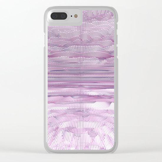 Abstract 249 Clear iPhone Case