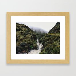 Puracé Framed Art Print