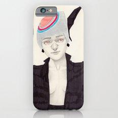 Black Feather Slim Case iPhone 6s