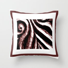 Carvings Throw Pillow