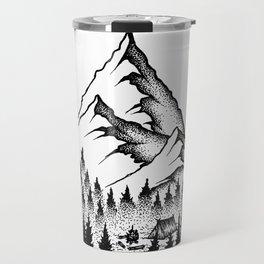 Mountain Camping Travel Mug