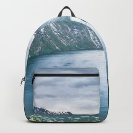 Seven Sisters Waterfall Geiranger Norway Ultra HD Backpack