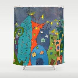 Fae Ville Shower Curtain