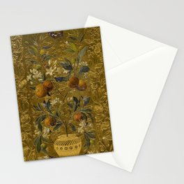 1880 Classical Masterpiece 'The Orange Tree' by William Jabez Muckley Stationery Cards