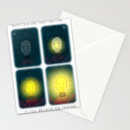 One light Stationery Cards