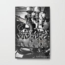 59AB Ford Flathead Engine Metal Print
