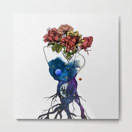 Roots of love. Metal Print