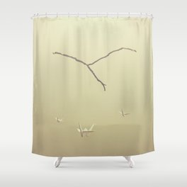 ethereal vibes Shower Curtain