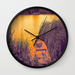 Silance Place Wall Clock