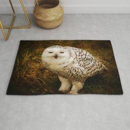 Look Deep Into Nature - Owl Art Rug