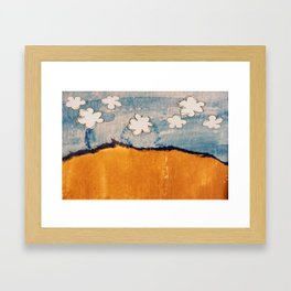 Tamed Landscape Framed Art Print