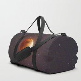 Lunar Eclipse Blood Moon Duffle Bag