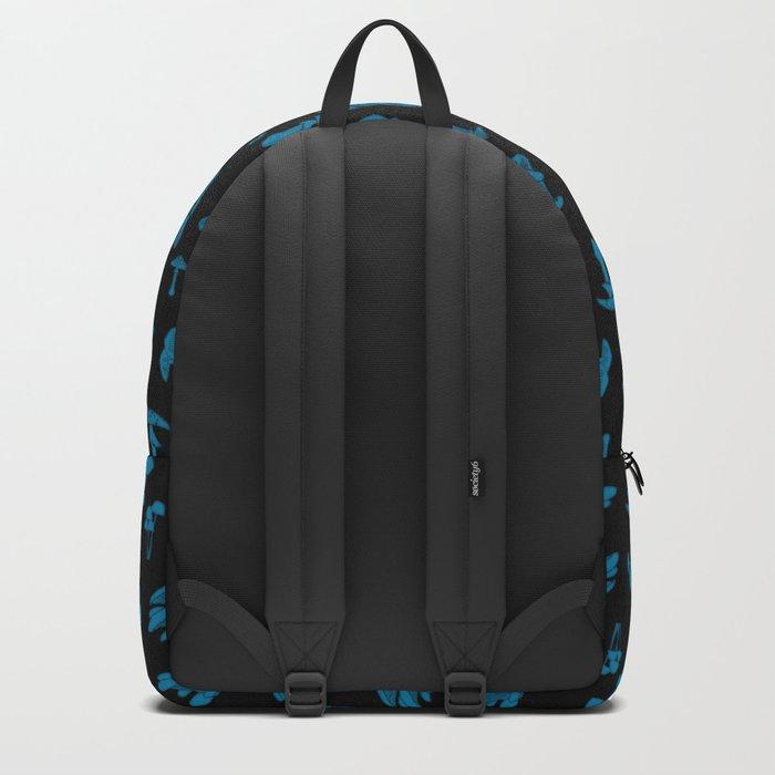 Mushroom Blue Backpack