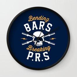 Bending Bars Breaking PRs Wall Clock