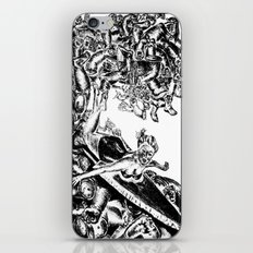 Surfing on Childhood iPhone & iPod Skin
