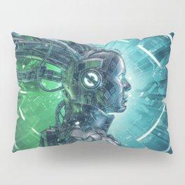 The Little Carbon Girl Pillow Sham