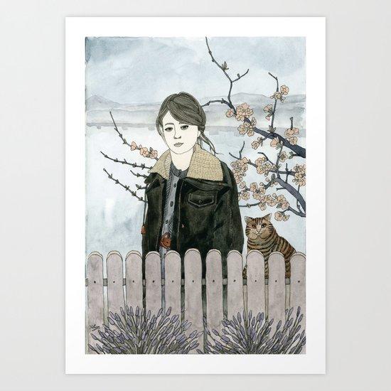 Early Spring Walk Art Print