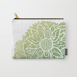 Pattern flower Carry-All Pouch