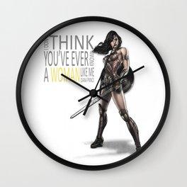 mujer maravilla Wall Clock
