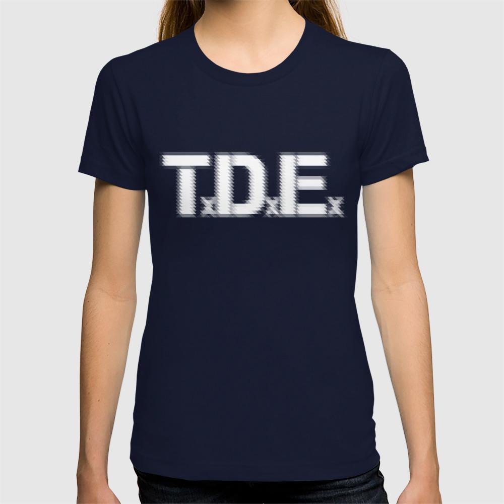 Tde Top Dawg Entertainment Kendrick Lamar T Shirt By Smartyartchick Society6