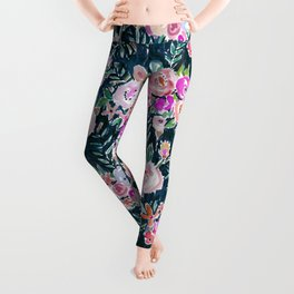 Midnight PROFUSION FLORAL Leggings