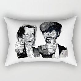 Zombie Fiction Rectangular Pillow