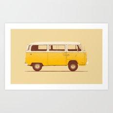 Yellow Van Art Print