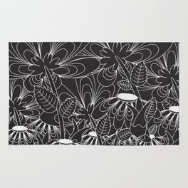 Daisy Floral Pattern 5 Rug
