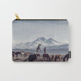 Wild Horses Carry-All Pouch
